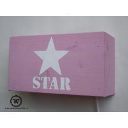 Wandlamp Star