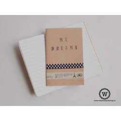 Notitieboek  my dreams