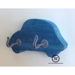 Kapstok auto blauw