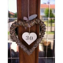 Huisnummer hart