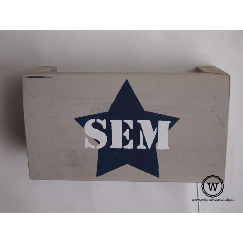 Wandlamp Sem
