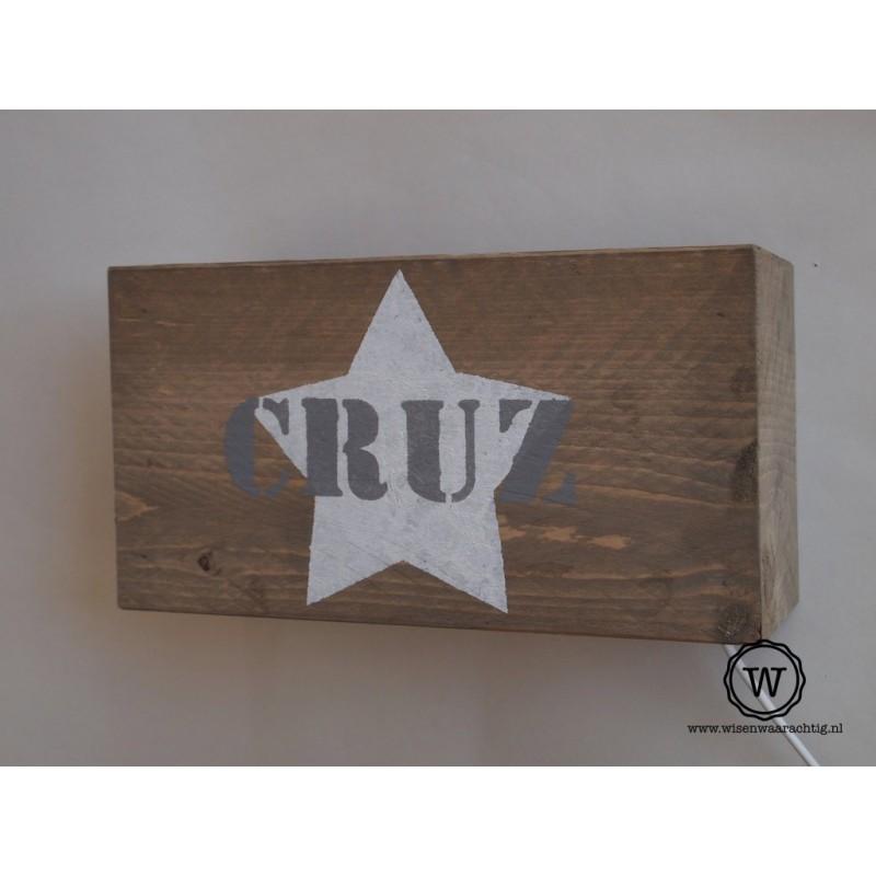 Wandlamp Cruz