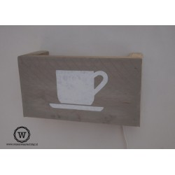 Wandlamp koffiekopje