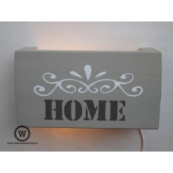 Wandlamp ornament Home