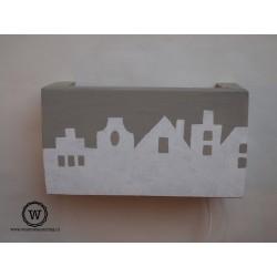 Wandlamp huisjes