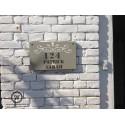 Naamborden voordeur