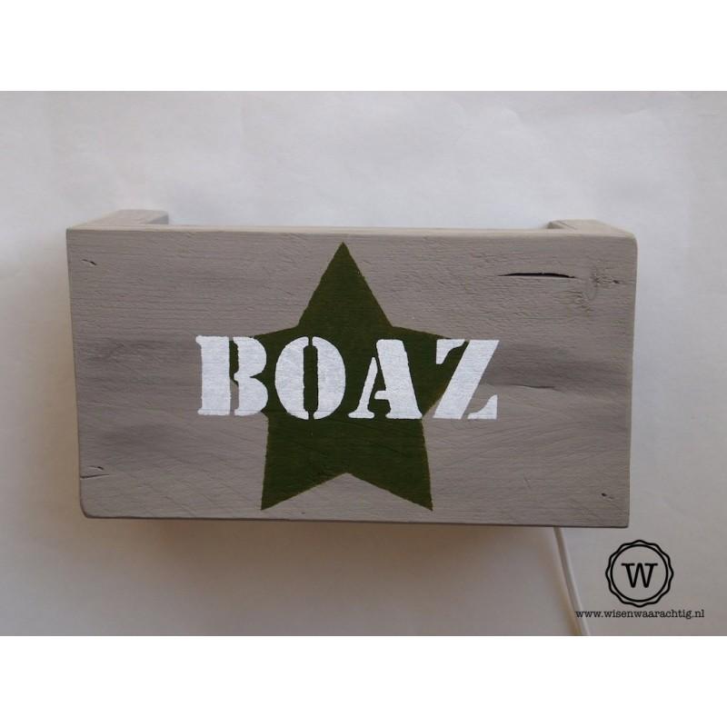 Wandlamp Boaz