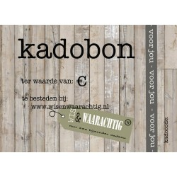 Kadobon € 15,-