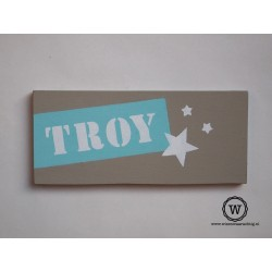 Naambord Troy