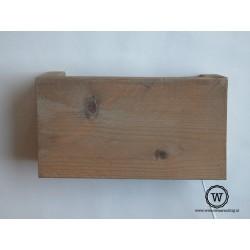 Wandlamp hout verouderd