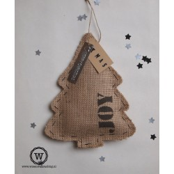 Jute kerstboom JOY