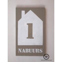 Naambord familie Nabuurs