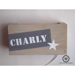 Wandlamp Charly