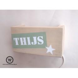 Wandlamp Thijs