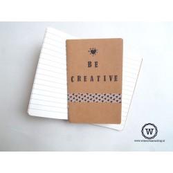 Notitieboek be creative