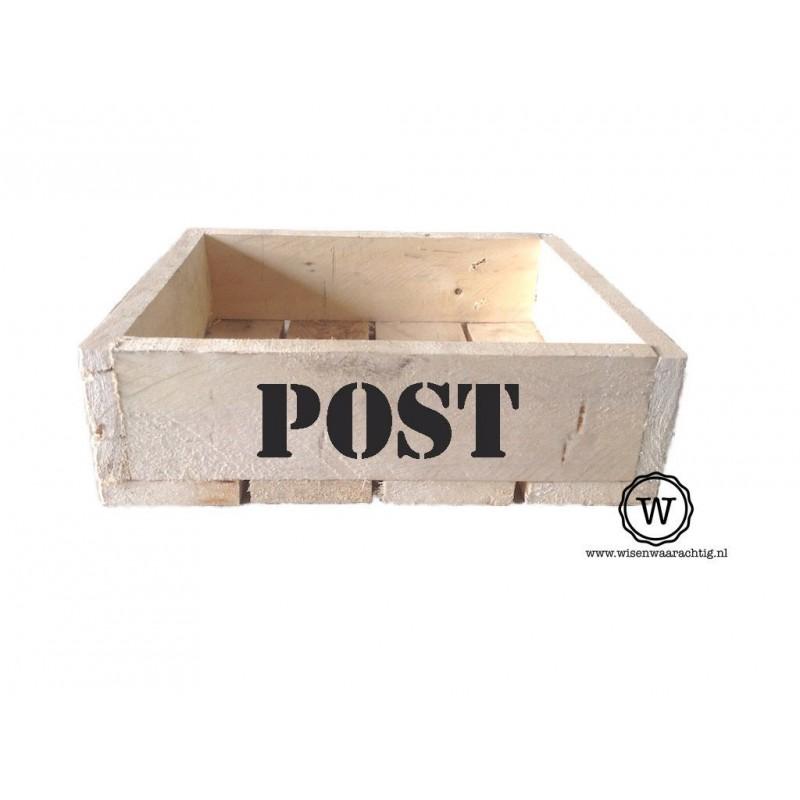 Opbergbak post