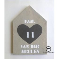 huis steigerhout hart met namen