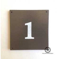 Naambord huisnummer