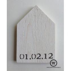 Houten huis datum