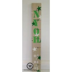 Groeimeter sterren groen