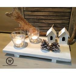 Dienblad steigerhout white wash