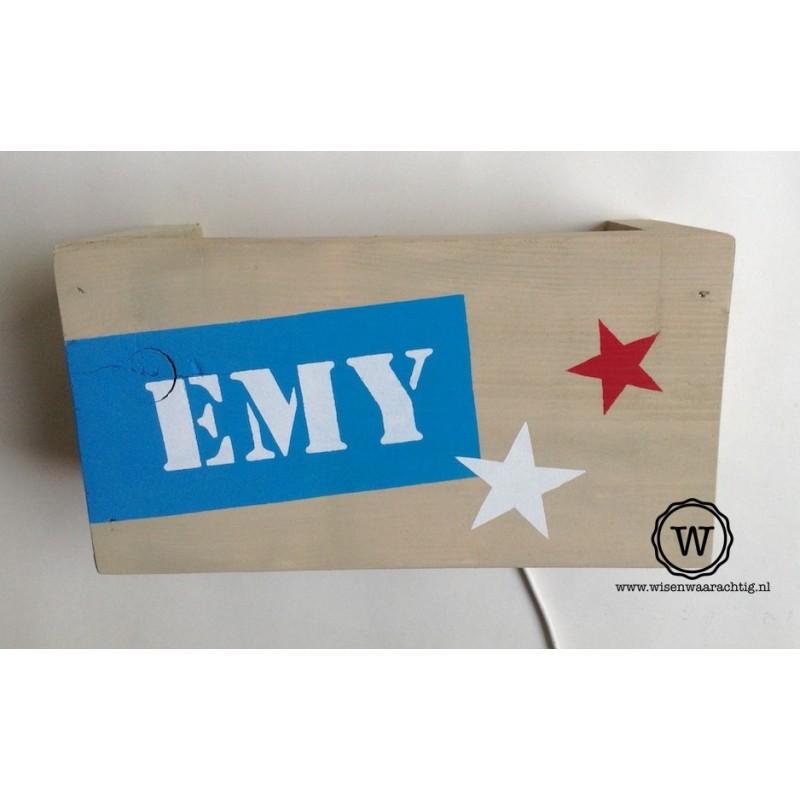 Wandlamp Emy