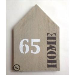 XL huis huisnummer