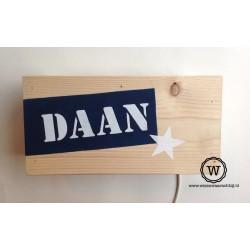 Wandlamp Daan