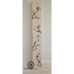 Groeimeter bloesem lila paars