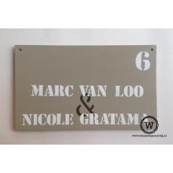 Naambord namen