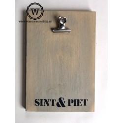 Memobord Sint & Piet