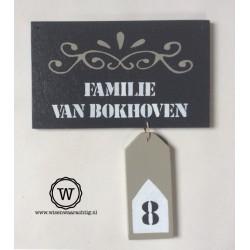 Naambord van der Valk