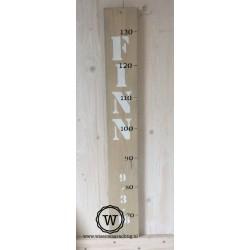 Groeimeter met naam en datum
