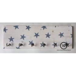 kapstok sterren white wash
