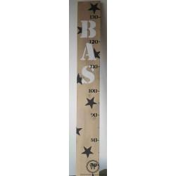 Groeimeter met naam en sterren