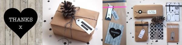 Kaarten en cadeaulabels | DIY bijzonder inpakken | Wis en Waarachtig