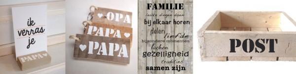 Vaderdagcadeaus | Uniek en handgemaakt | Wis en Waarachtig